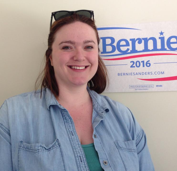 Julia Barnes Bernie Sanders