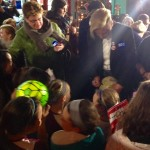 Abby Wambach signed every ball, t-shirt, smartphone case and scrap of paper